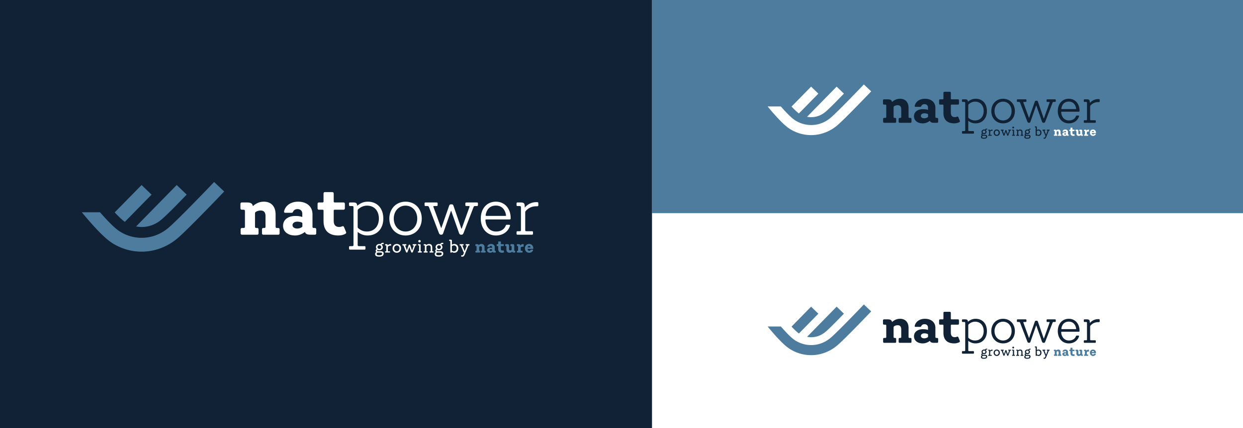 Nat Power_studio del logo