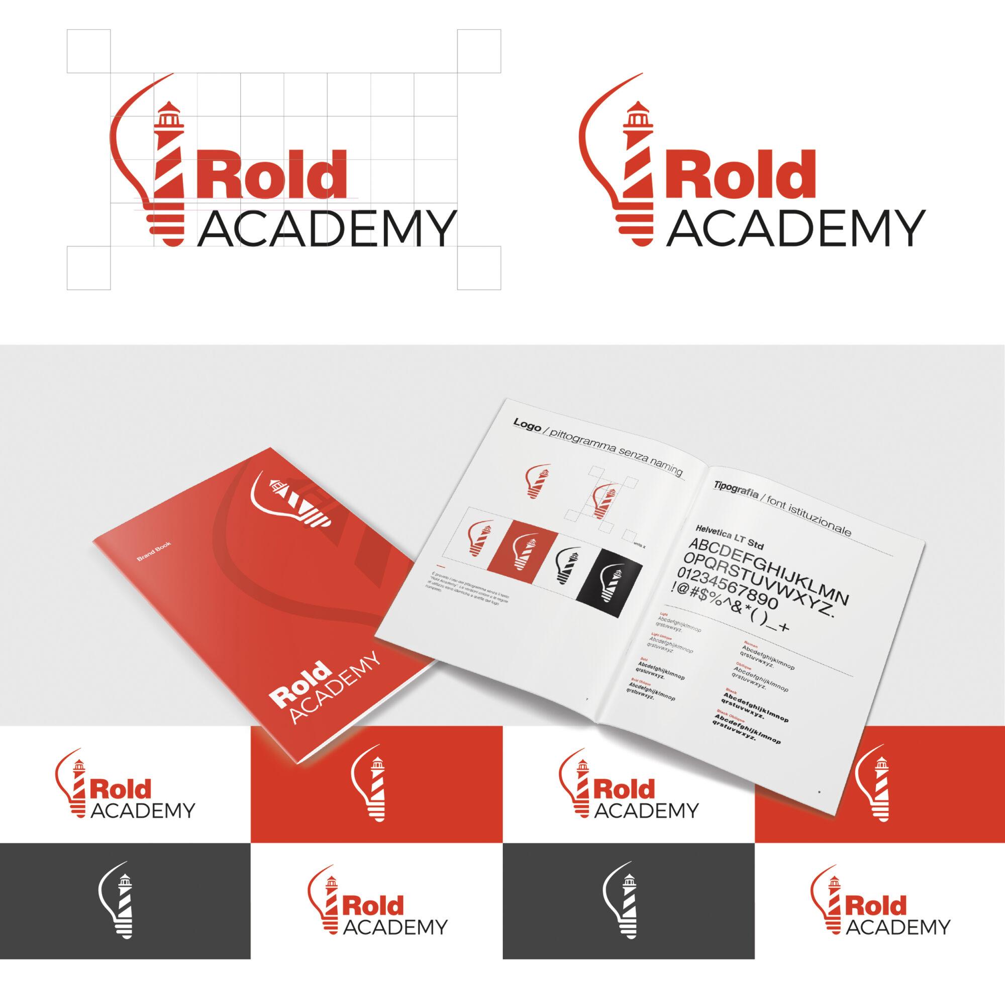 rold academy branding