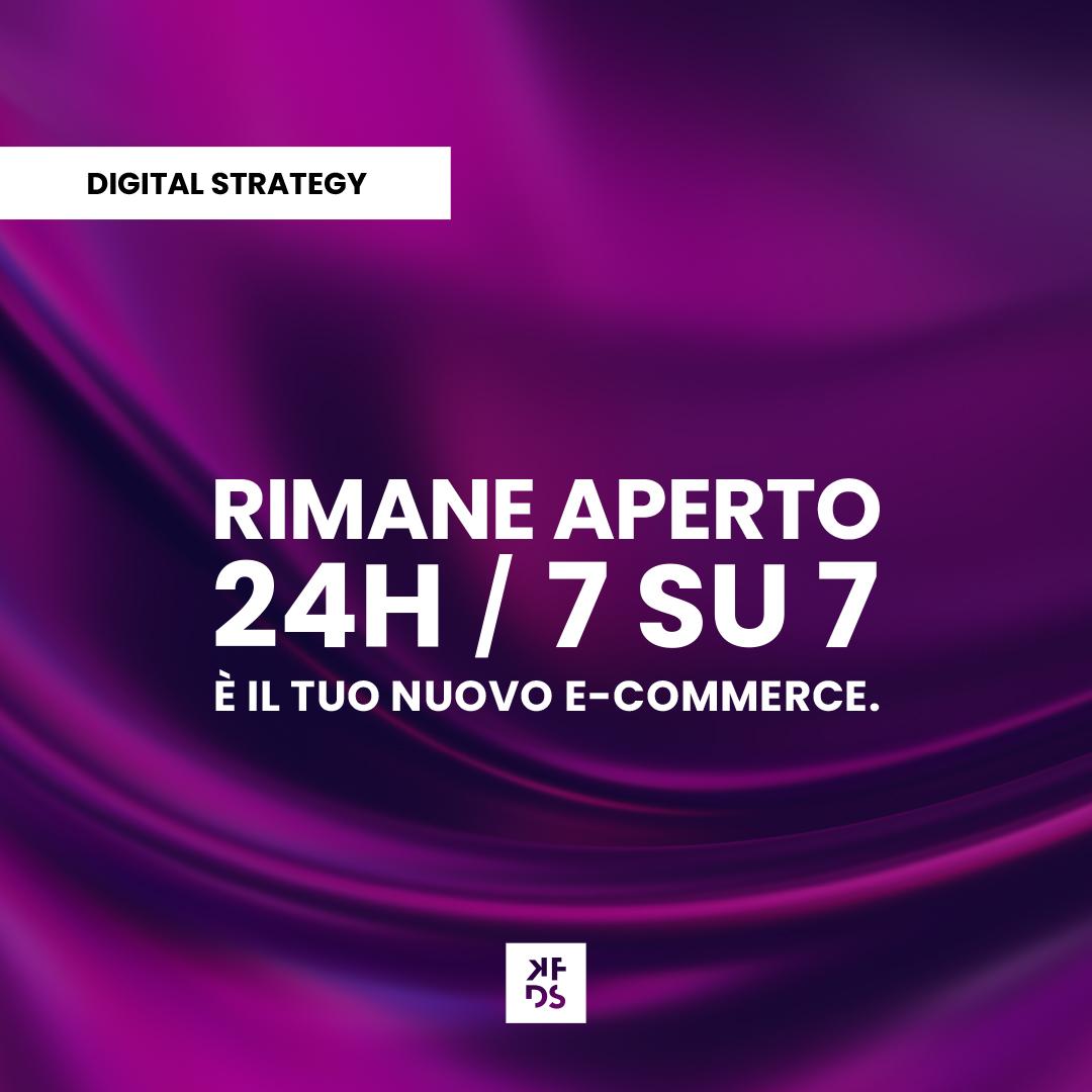 il tuo nuovo e-commerce
